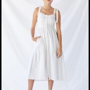 NWOT Urban Outfitters White Sundress